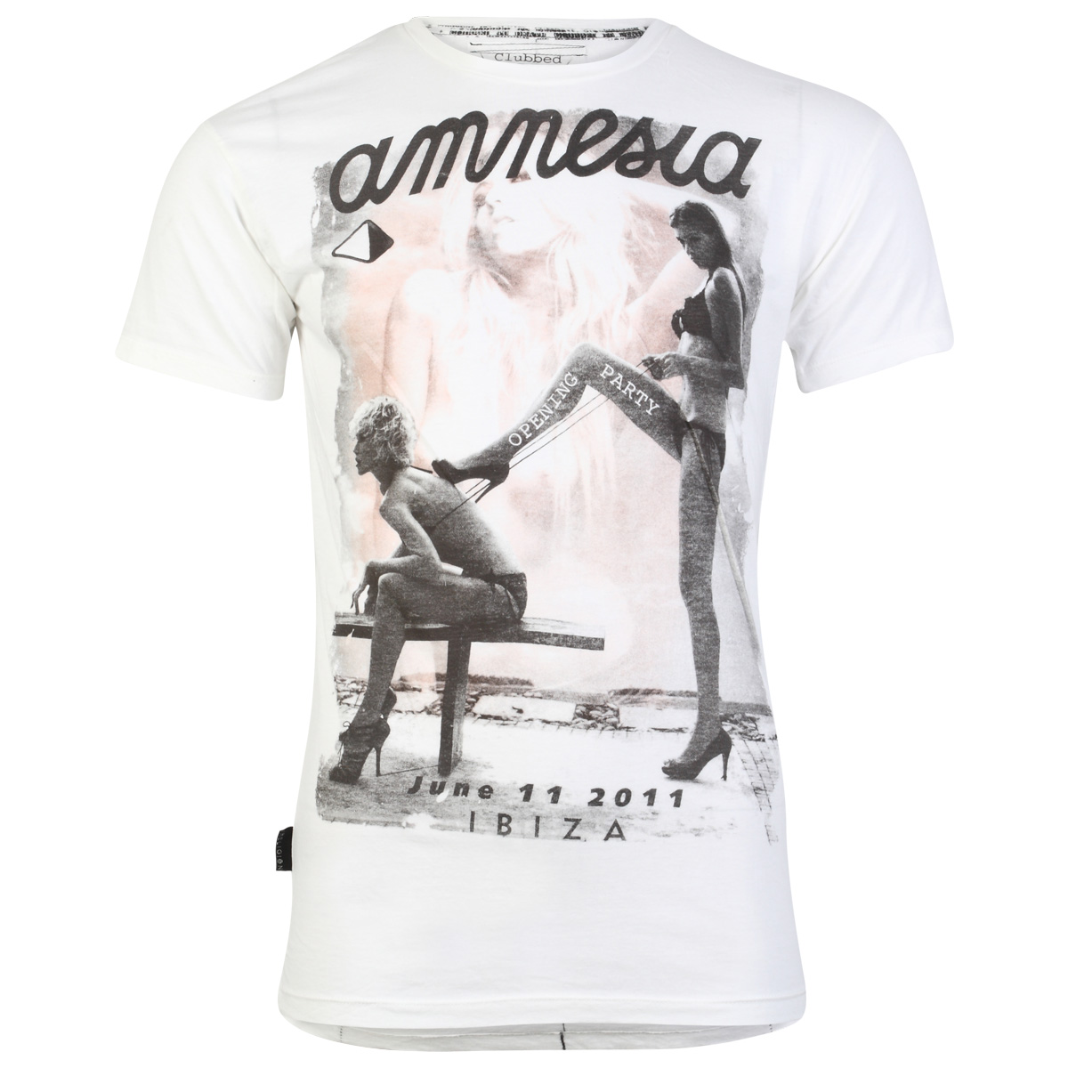 RELIGION-CLOTHING-MENS-WHITE-AMNESIA-IBIZA-PRINT-SHORT-SLEEVE-T-SHIRT-SIZE-S-XL