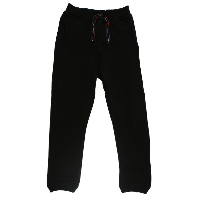 NEW KIDS BOYS BEN SHERMAN BLACK POCKET JOGGING BOTTOMS PANTS TROUSERS