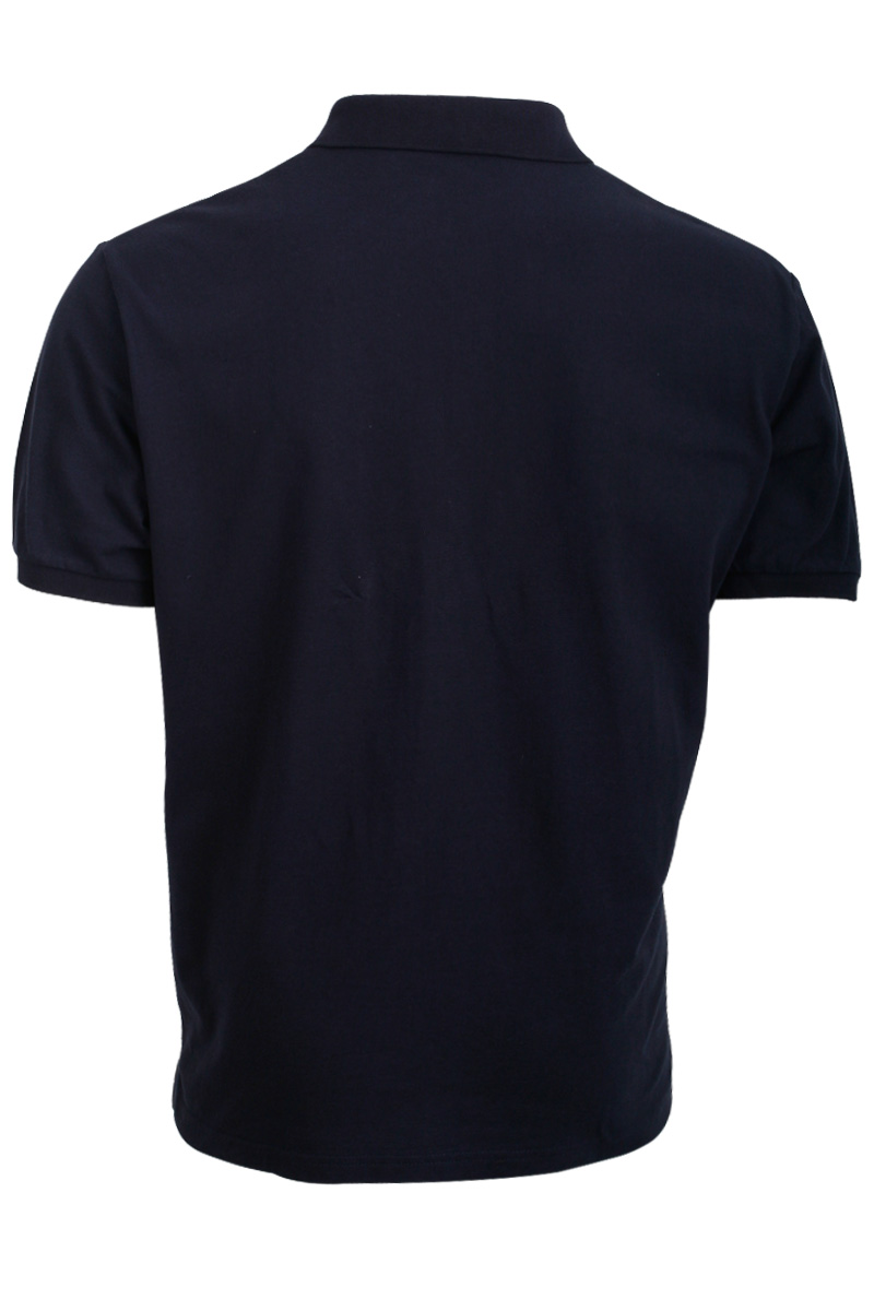 NEW-MENS-GABICCI-VINTAGE-NAVY-BLUE-RIBBED-RETRO-MOD-POLO-T-SHIRT-SIZE-XS-5XL-UK