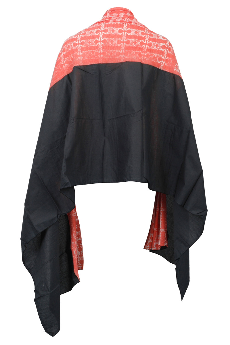 RELIGION-CLOTHING-LADIES-CORAL-WASHED-BLACK-WOMENS-PRINTED-CASUAL-SCARF-ONE-SIZE