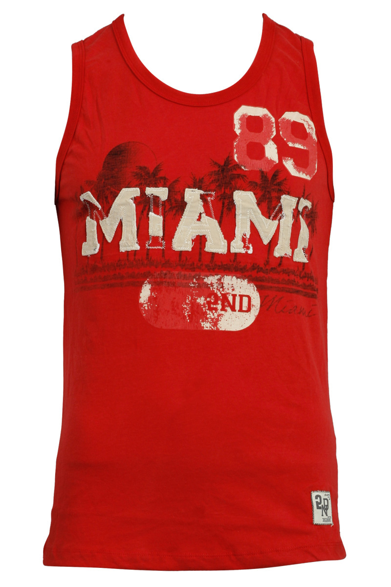 RELIGION-CLOTHING-NEW-MENS-2ND-EDITION-RED-MIAMI-SLEEVELESS-VEST-TOP-SIZE-S-XL