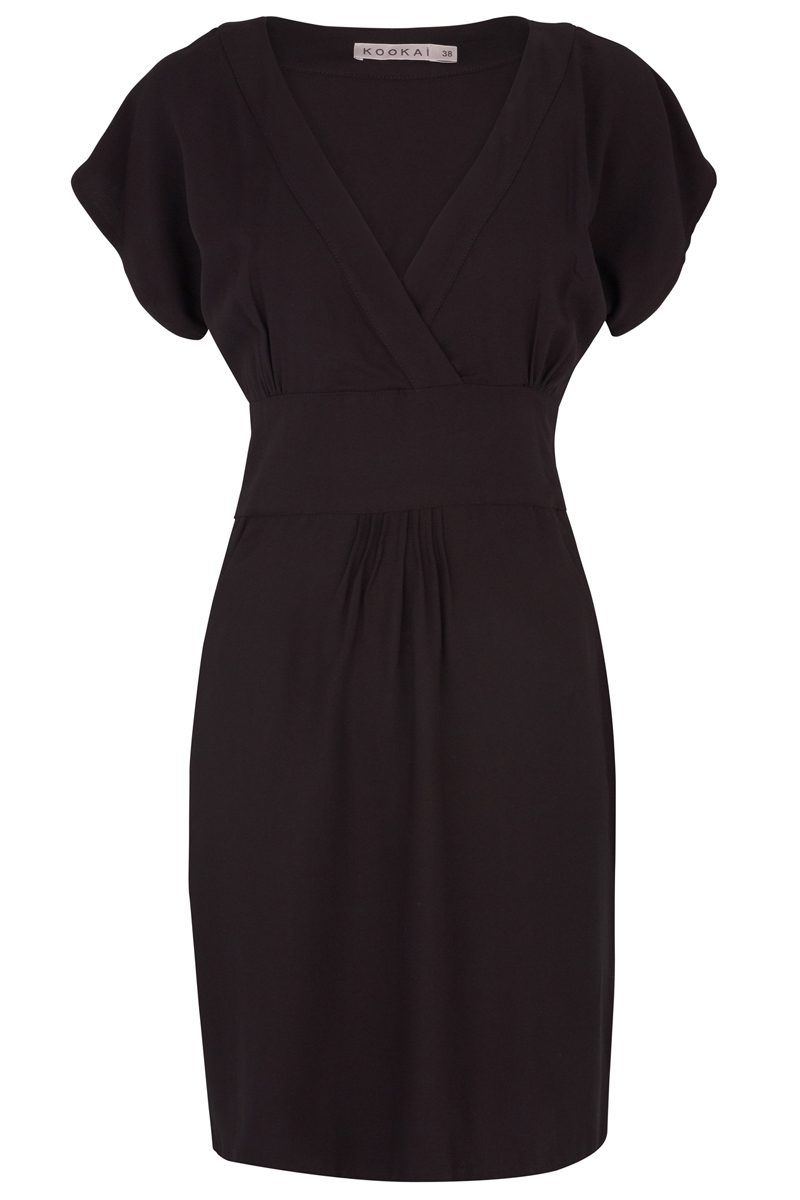 LADIES-CLASSIC-BLACK-KOOKAI-FORMAL-DRESS-SIZE-6-16-UK