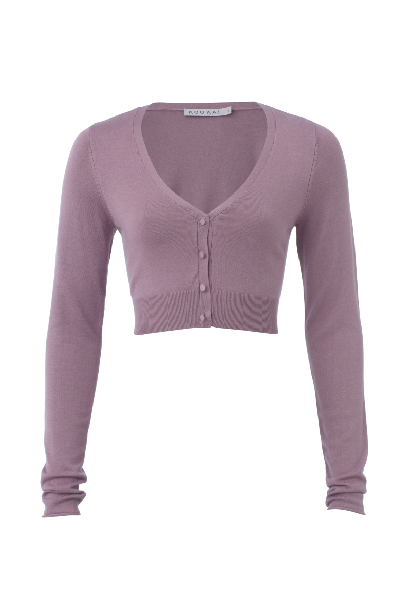 NEW-WOMENS-KOOKAI-PURPLE-LONG-SLEEVED-BOLERO-LADIES-CROPPED-CARDIGAN-SIZE-6-16