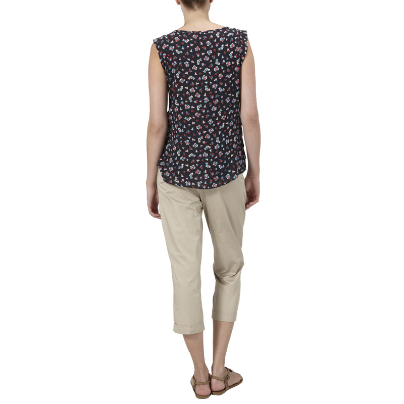 NEW-WOMENS-KOOKAI-NAVY-FLORAL-BLOUSE-LADIES-TIERED-SLEEVELESS-TOP-SIZE-6-16-UK