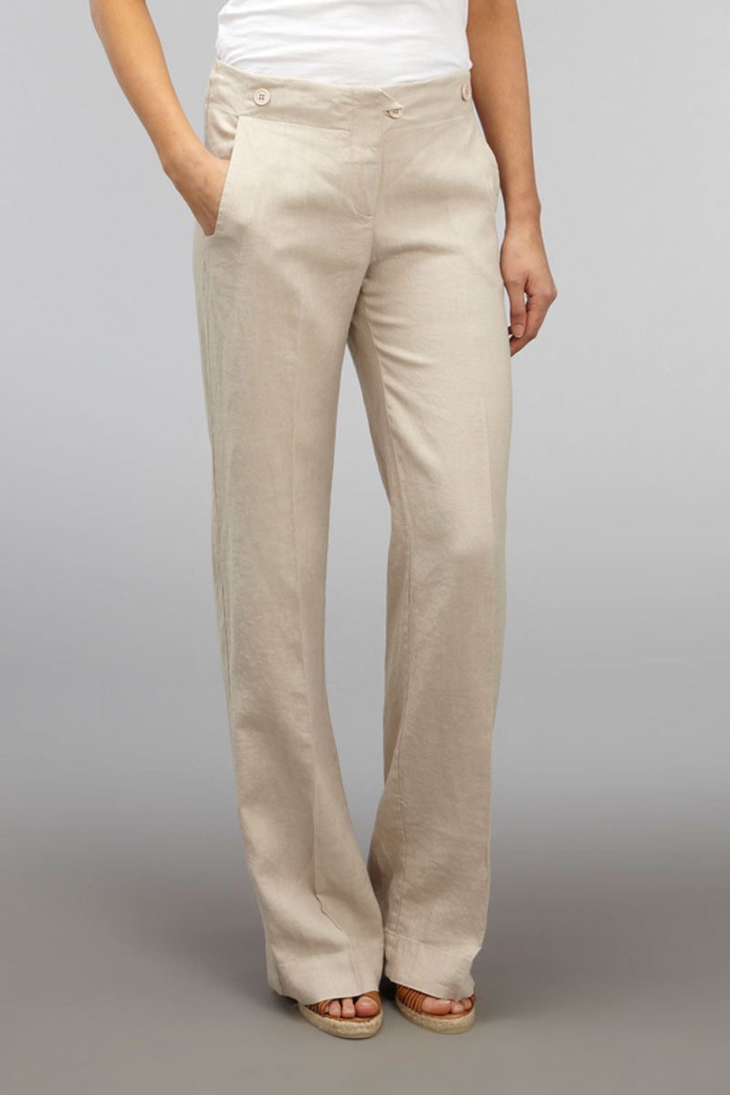 Brilliant Vero Moda ALICIA LOOSE Women Dress Pant Beige