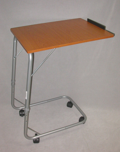 New Cantilever Over Bed Table Adjustable Height Tilt Top