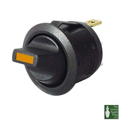 durite commutateur bascule rond de hors led ambre 12 24 volts cd1 0 531 60 ebay. Black Bedroom Furniture Sets. Home Design Ideas