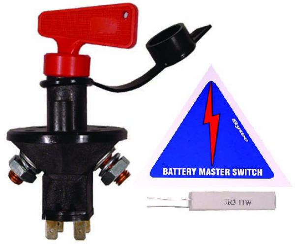 Battery Master Switch : Fse fia battery master switch ebay