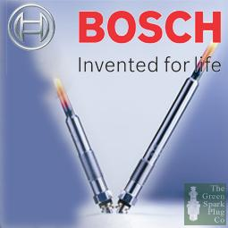 6x Bosch Sheathed Element Glow Plug 0257200003