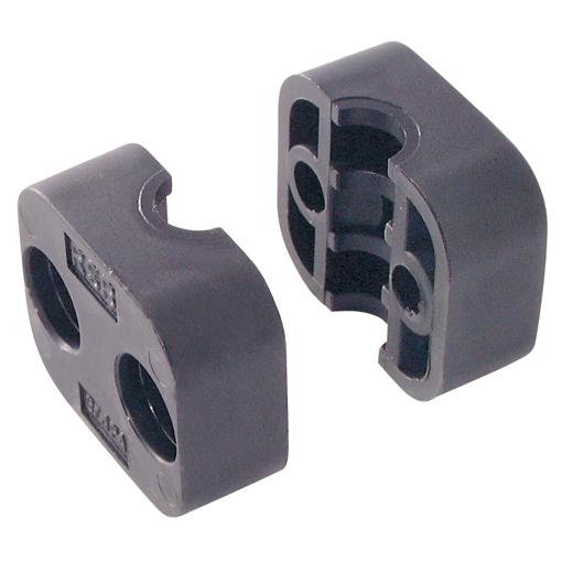Rsb abrazaderas de tubos hidr ulicos 82 5mm od poliamide - Abrazaderas para tubos ...