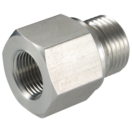 Stainless steel compression fittings quot male