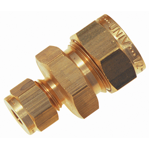 Wade brass compression fittings quot od