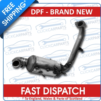 Ford focus 1 6 tdci replacement diesel particulate filter dpf new