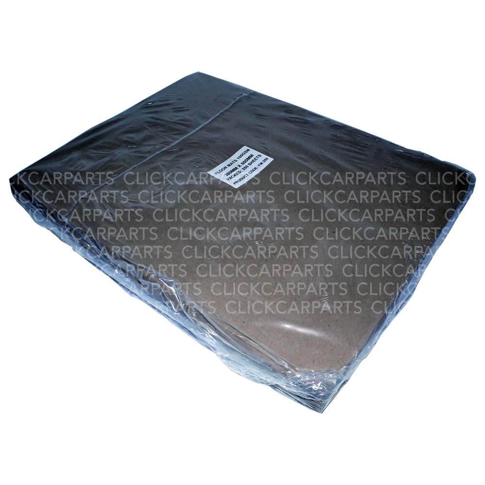 250 Brown Paper Floor Mats For Bodyshop Valeting Car