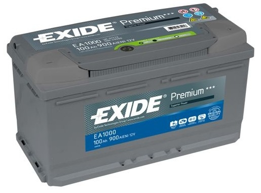exide premium 100ah 900cca 12v car battery 4 year warranty ea1000 free uk p p ebay