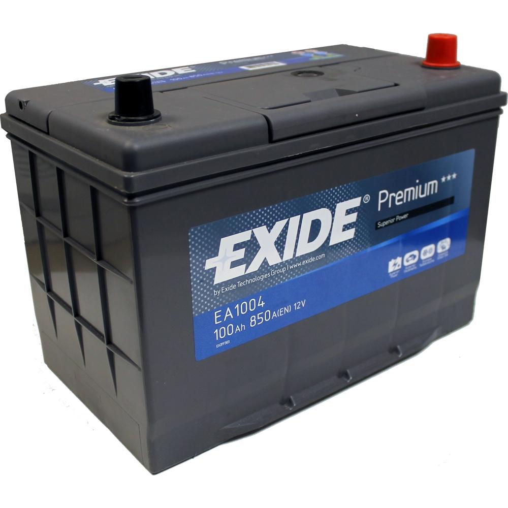 exide premium 100ah 850cca 12v car battery 4 year warranty ea954 free uk p p ebay. Black Bedroom Furniture Sets. Home Design Ideas