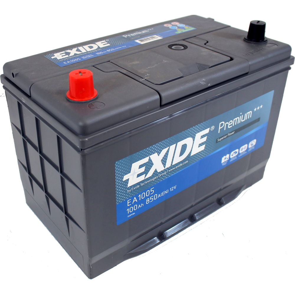 dodge nitro 2 8 2007 exide premium car battery 4 yr wty 100ah ea955 ebay. Black Bedroom Furniture Sets. Home Design Ideas