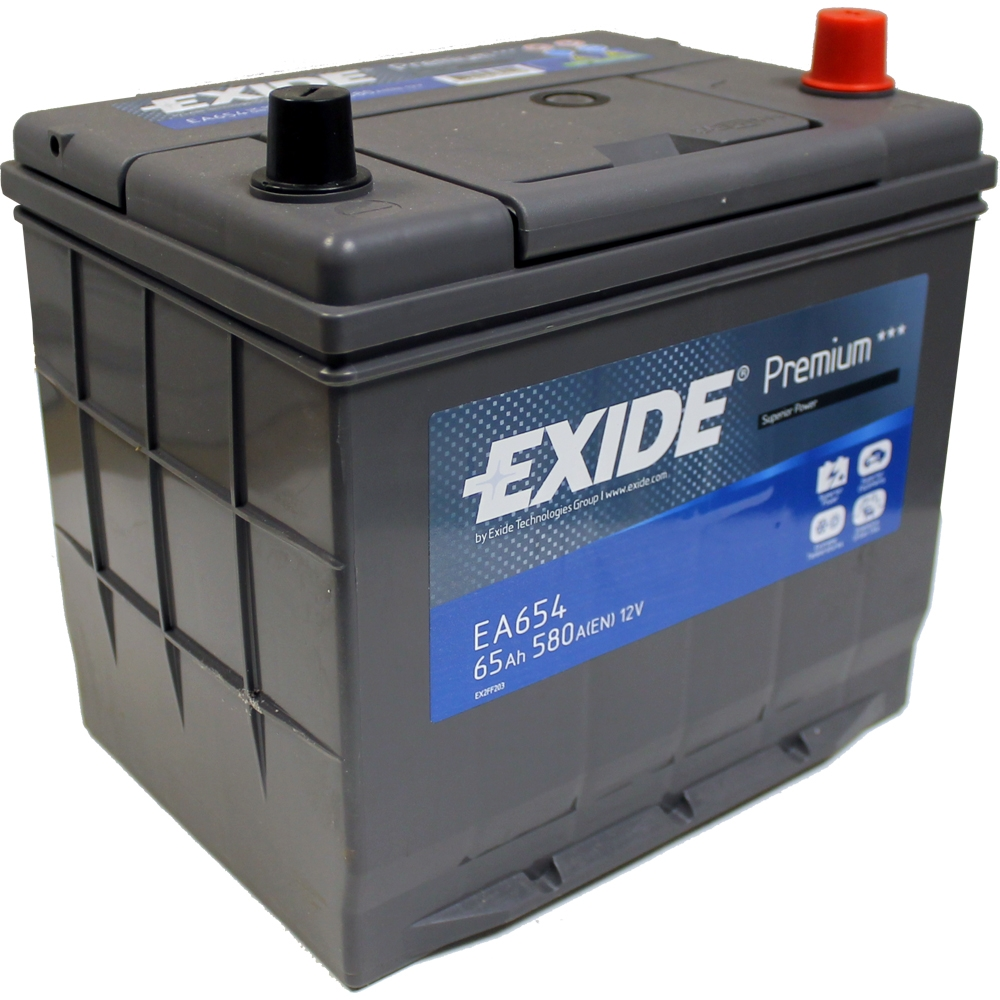 exide premium 65ah 580cca 12v car battery 4 year warranty ea654 free uk p p ebay. Black Bedroom Furniture Sets. Home Design Ideas