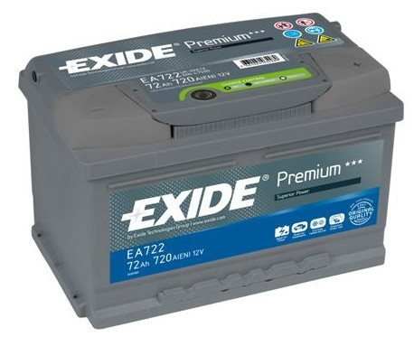 exide excell car battery type 096 100 4 year warranty. Black Bedroom Furniture Sets. Home Design Ideas