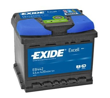 exide excell car battery type 063 3 year warranty eb442. Black Bedroom Furniture Sets. Home Design Ideas