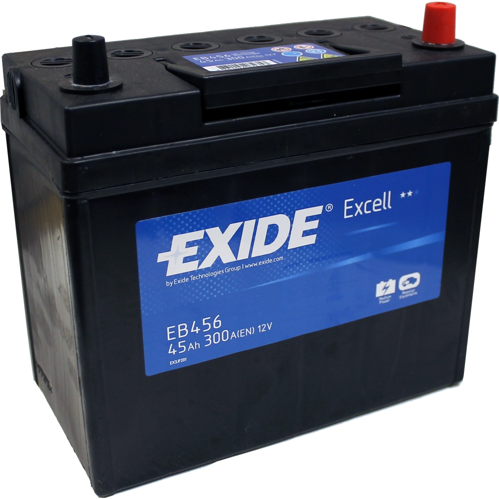 exide premium 45ah 300cca 12v car battery 3 year warranty. Black Bedroom Furniture Sets. Home Design Ideas