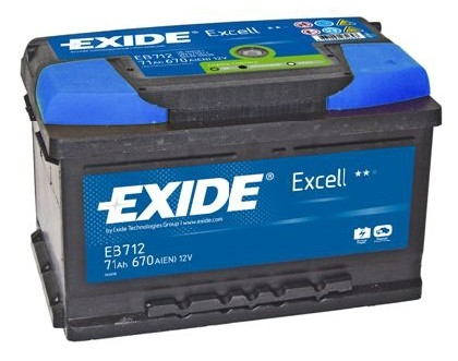 exide excell car battery type 096 100 3 year guarantee ebay. Black Bedroom Furniture Sets. Home Design Ideas