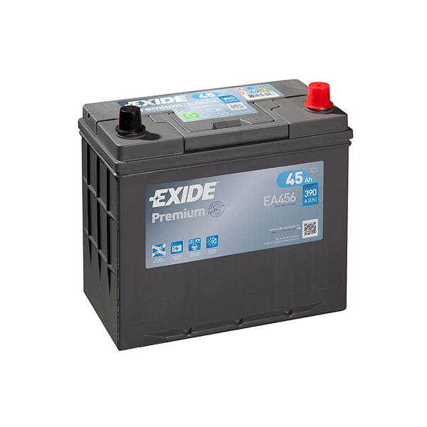 1x Exide Premium 45Ah 390CCA 12v Type 154 Car Battery 4