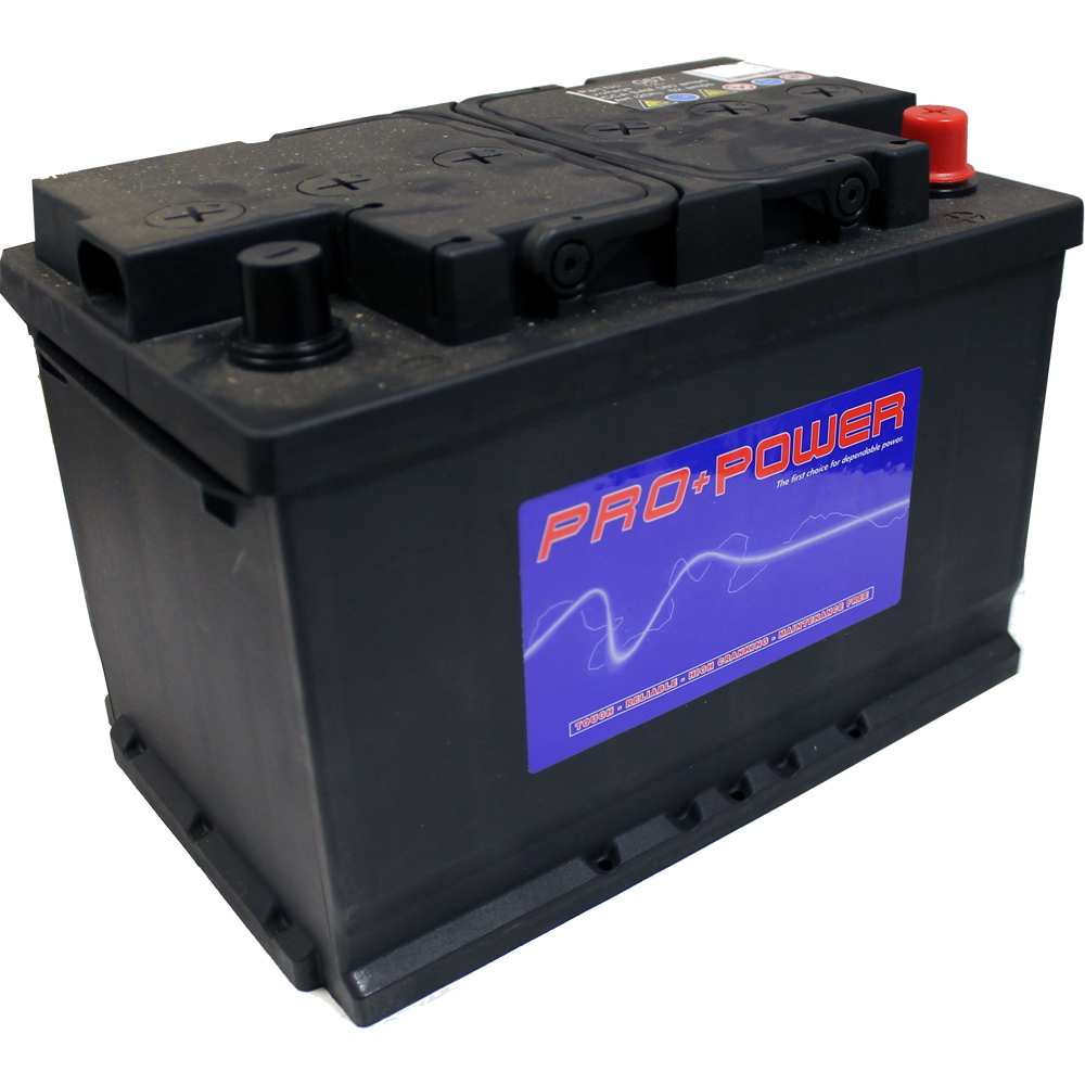 1x Replacement 66Ah 620CCA 12v Type 067 Car Battery 2 Year
