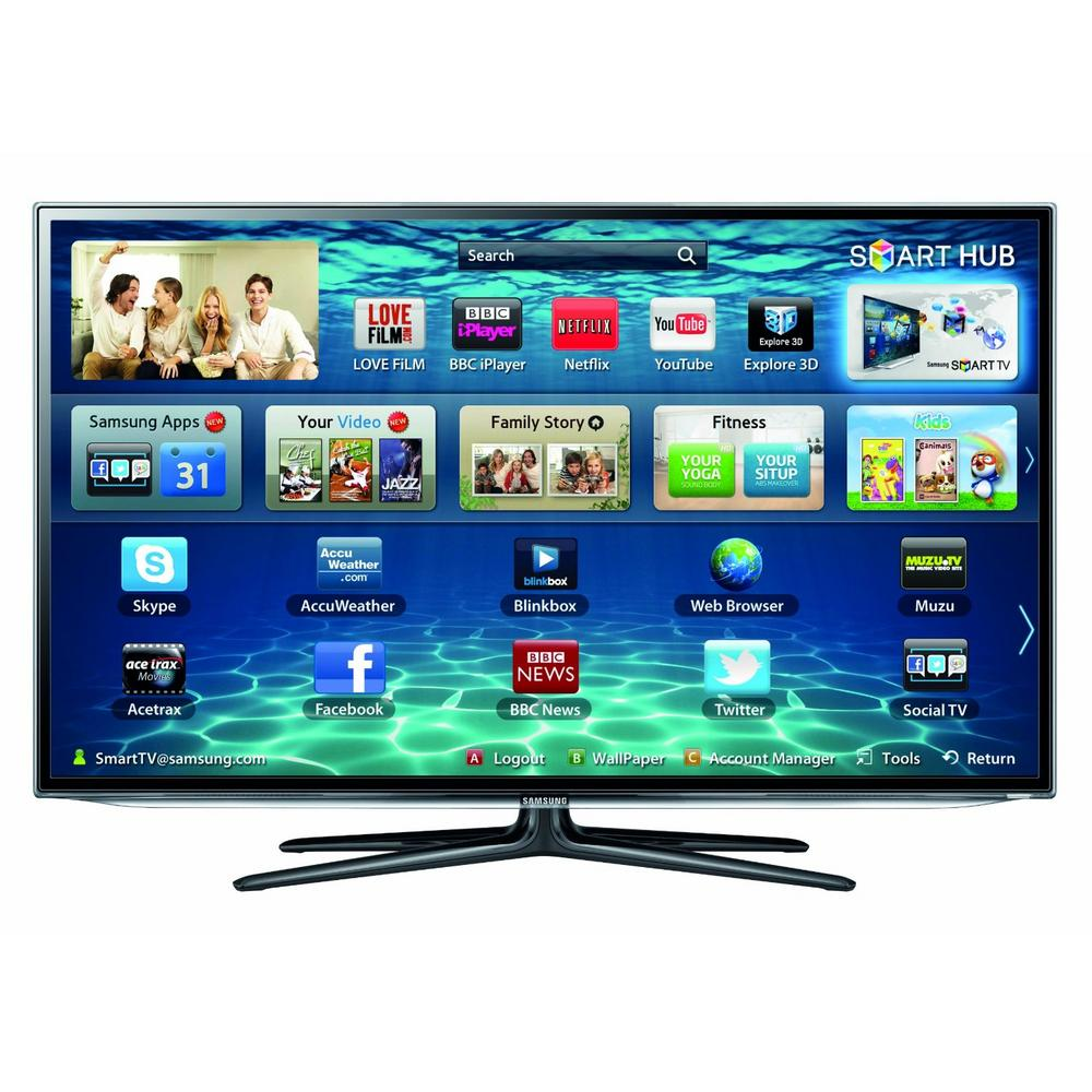 Samsung 60 inch 3d fhd led tv smart tv wifi freeview freesat preview