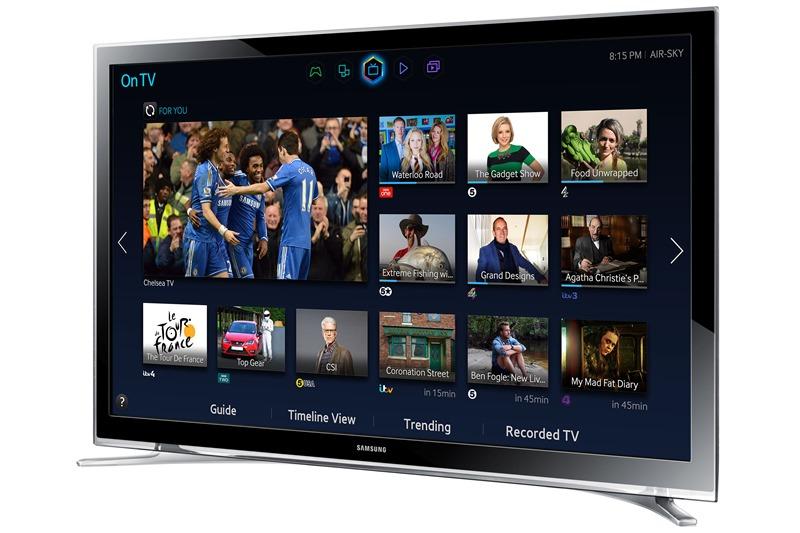 Genuine Samsung UE32H4500 32 Inch LED LCD Smart HD Freeview HDMI WIFI TV Black