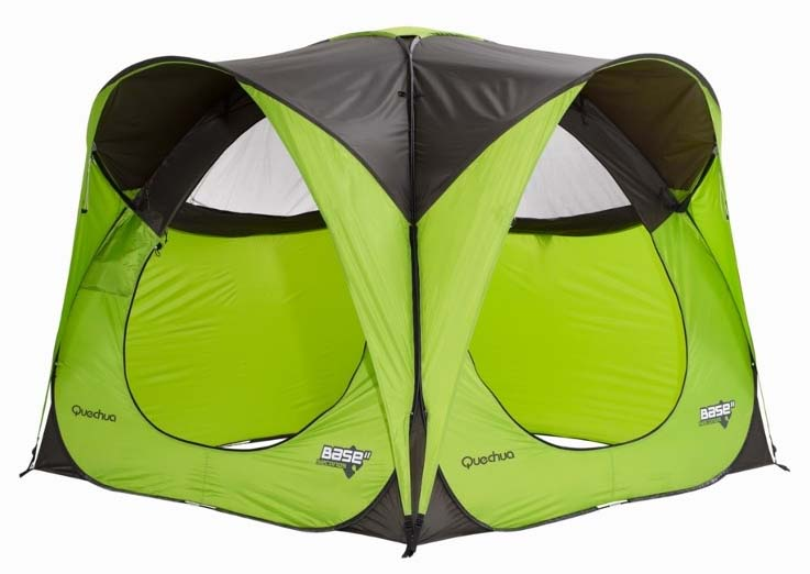 Quechua 2 seconds base std in green pop up tent ebay for Living room quechua