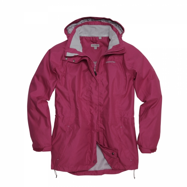 Craghoppers Madigan II Ladies Womens Casual Jacket in Cerise (CWW1040) S 10-18 Enlarged Preview