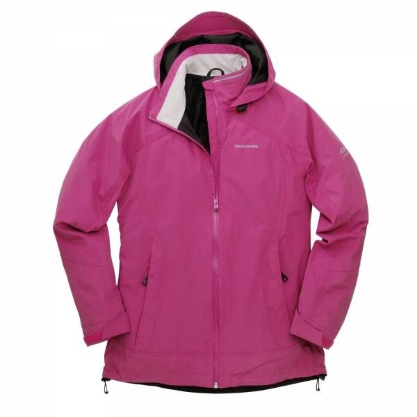 Craghoppers-Womens-Winter-Vision-Jacket-Fuschia-CWW1036-New-Women-s-Top