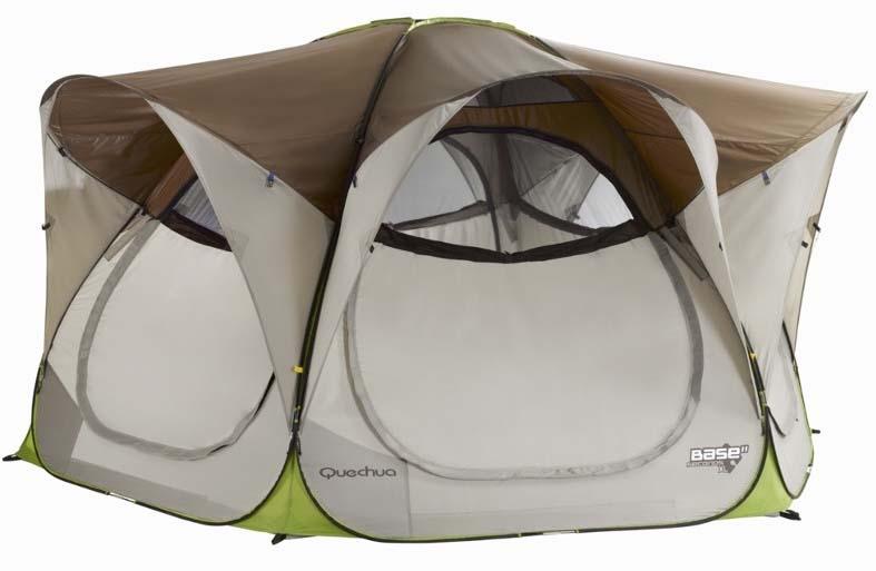 quechua 2 seconds base xl tent pop up tent. Black Bedroom Furniture Sets. Home Design Ideas