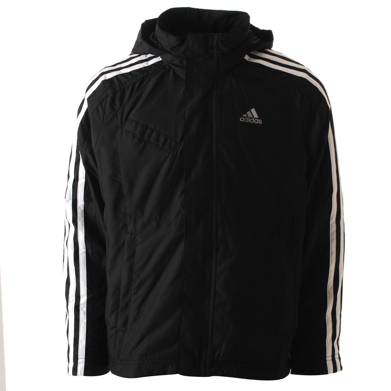 adidas 3 Stripes Mid Season Jacket (Junior)