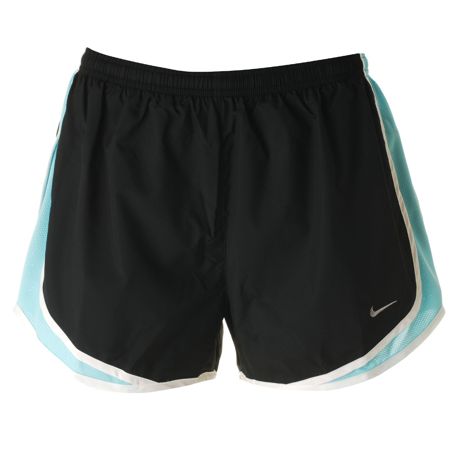 Nike-Tempo-Womens-Running-Shorts-with-Nike-Black-and-Blue