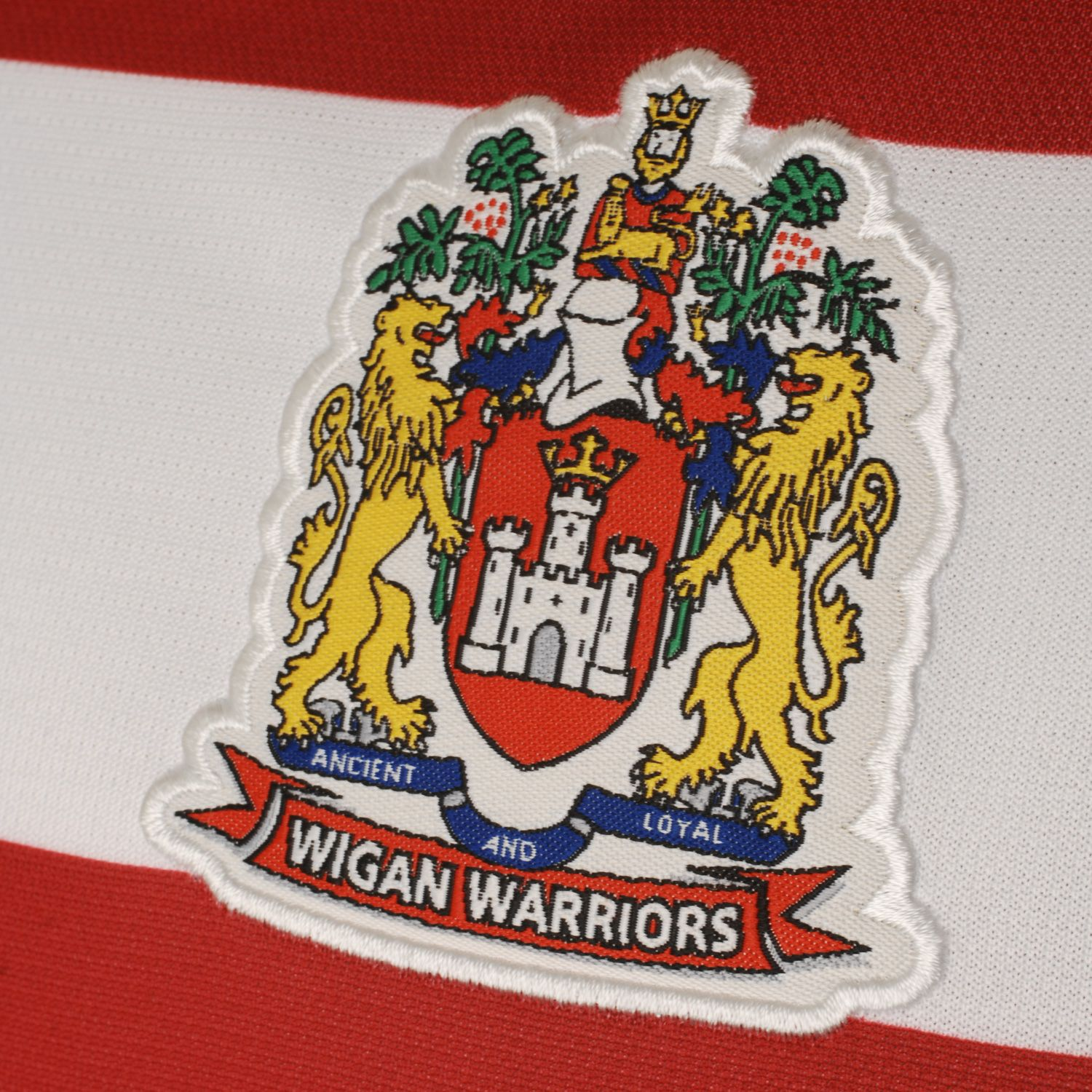 An Nrl Blog Nrl 2012: Wigan Warriors Rugby League Ladies Home Replica Jersey