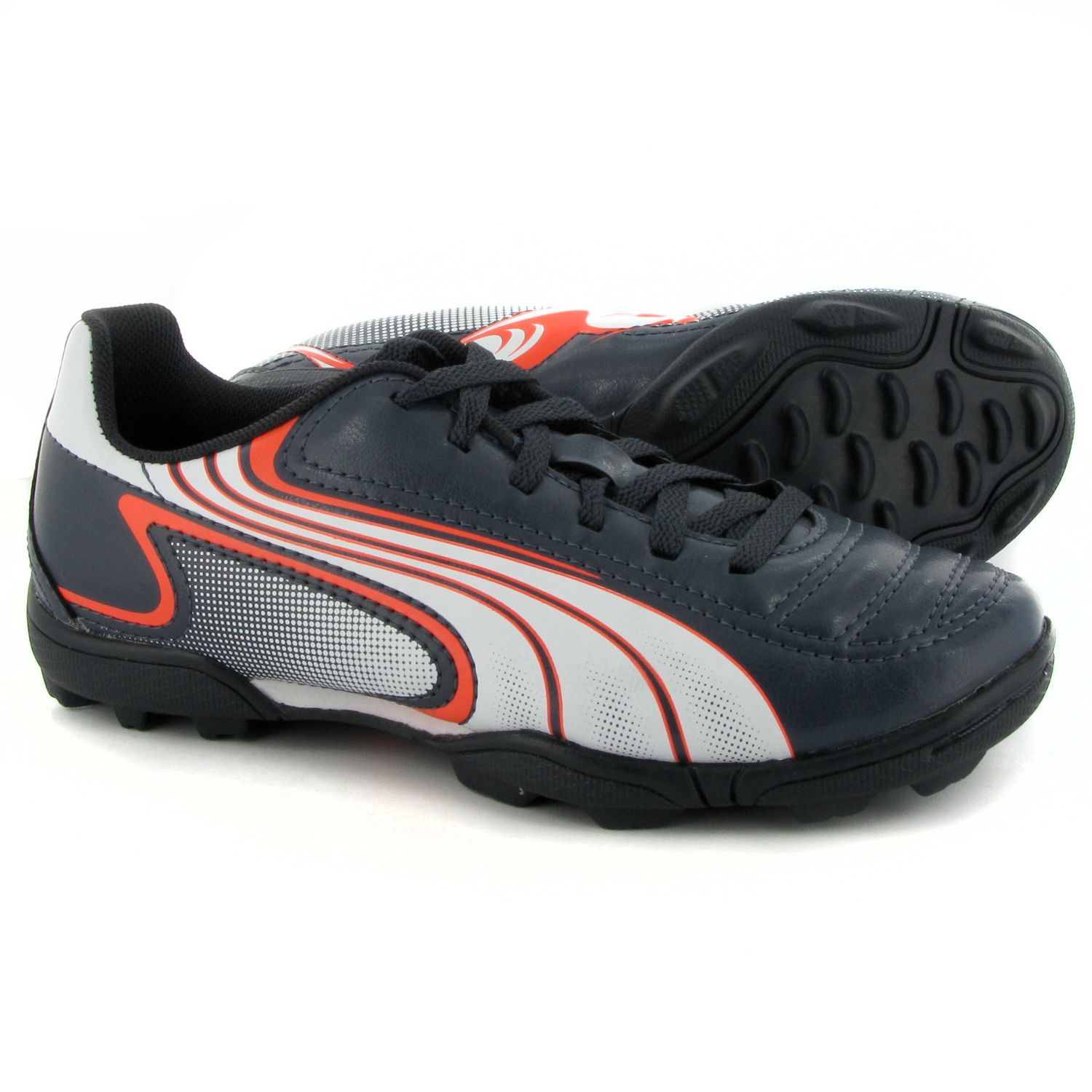 Puma-V6-11-I-Astro-Turf-Football-Trainers-Junior-Charcoal