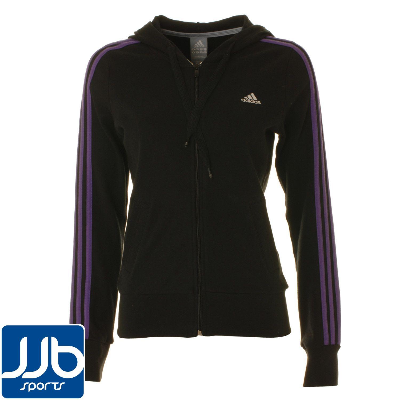 adidas 3 strip hooded ski jackets