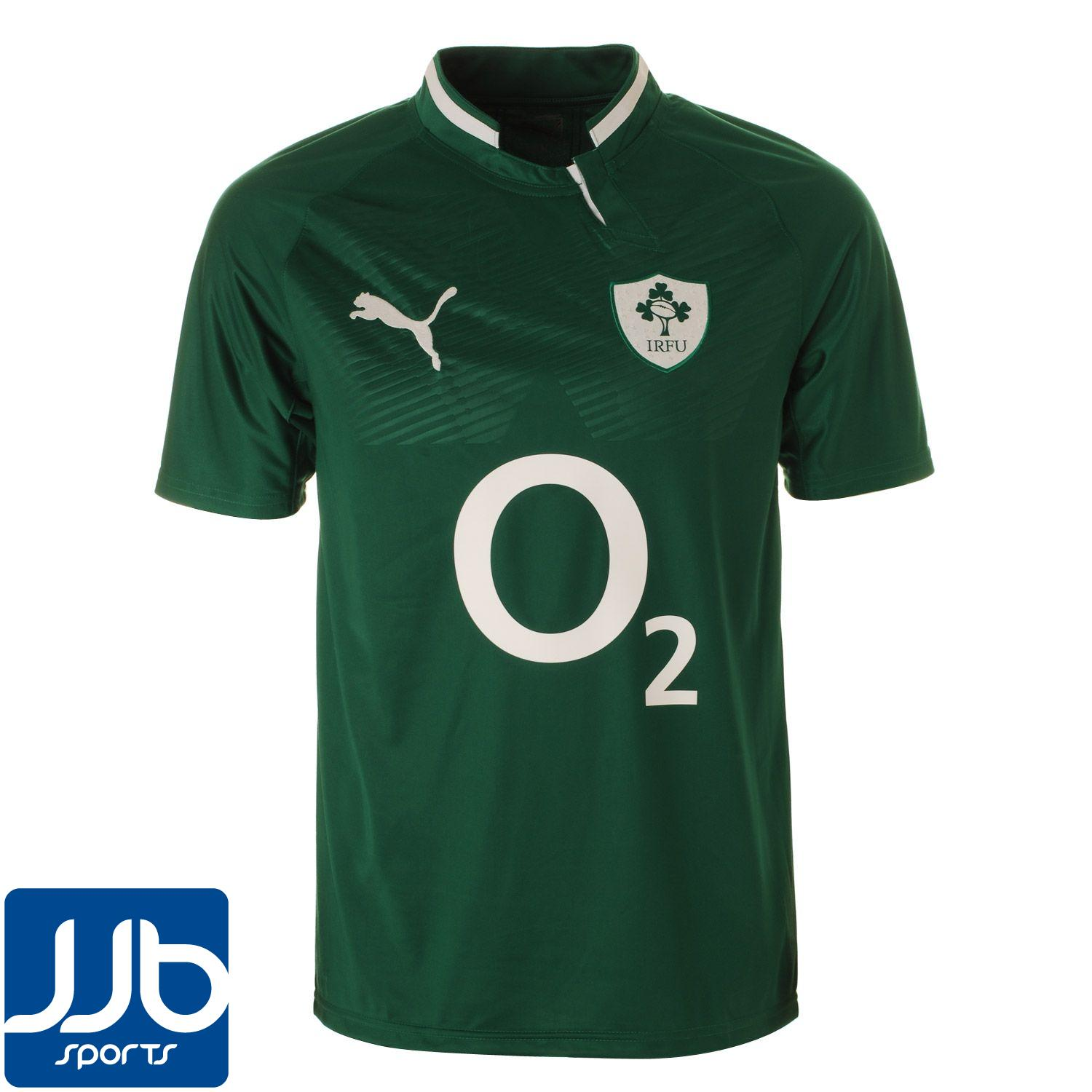 Azerbaijan Rugby Union Official Home: Ireland Rugby Union Mens Home Replica Jersey 2011/12