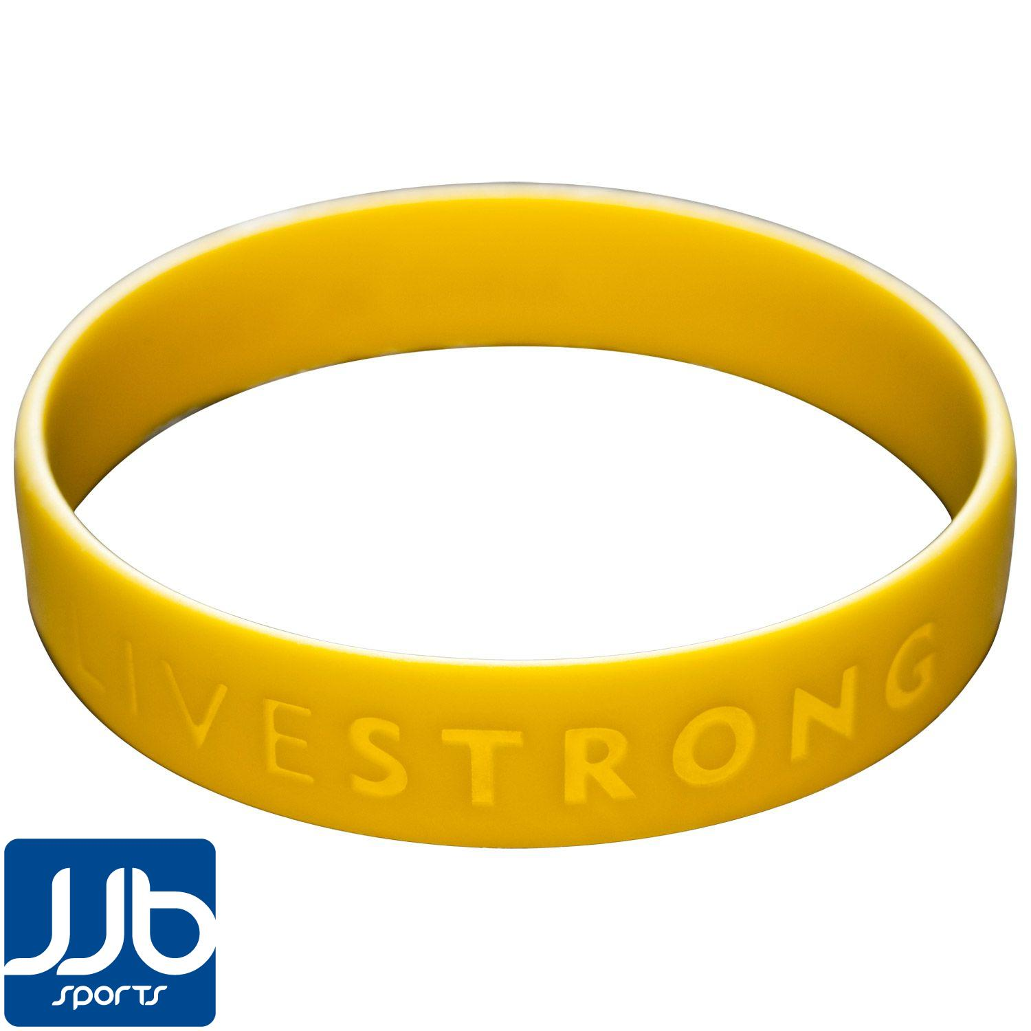 """LIVESTRONG Wristband - Part of the """"Wear Yellow Live ..."""