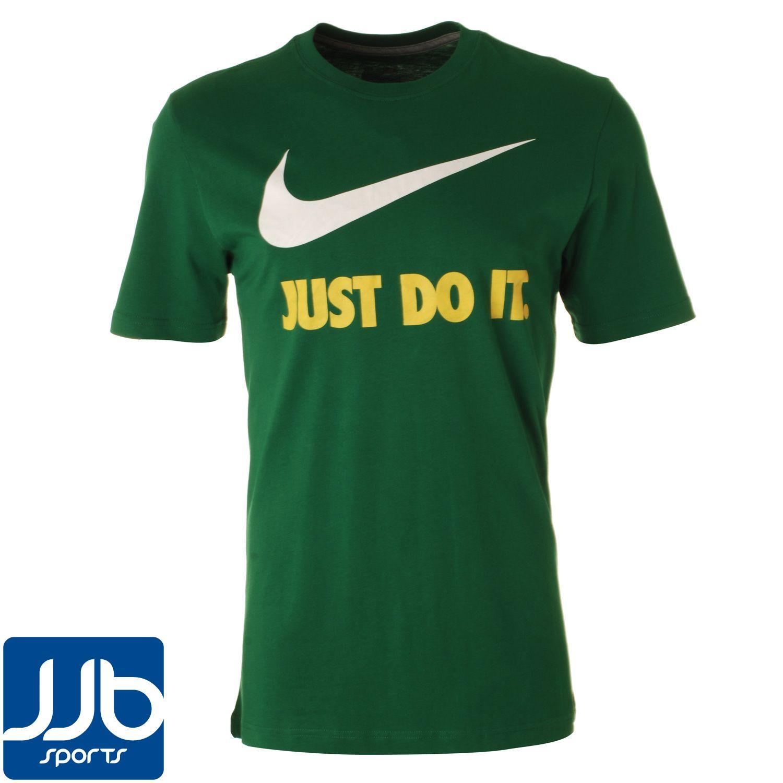 Nike Just Do It Swoosh Mens 100 Cotton Short Sleeve T