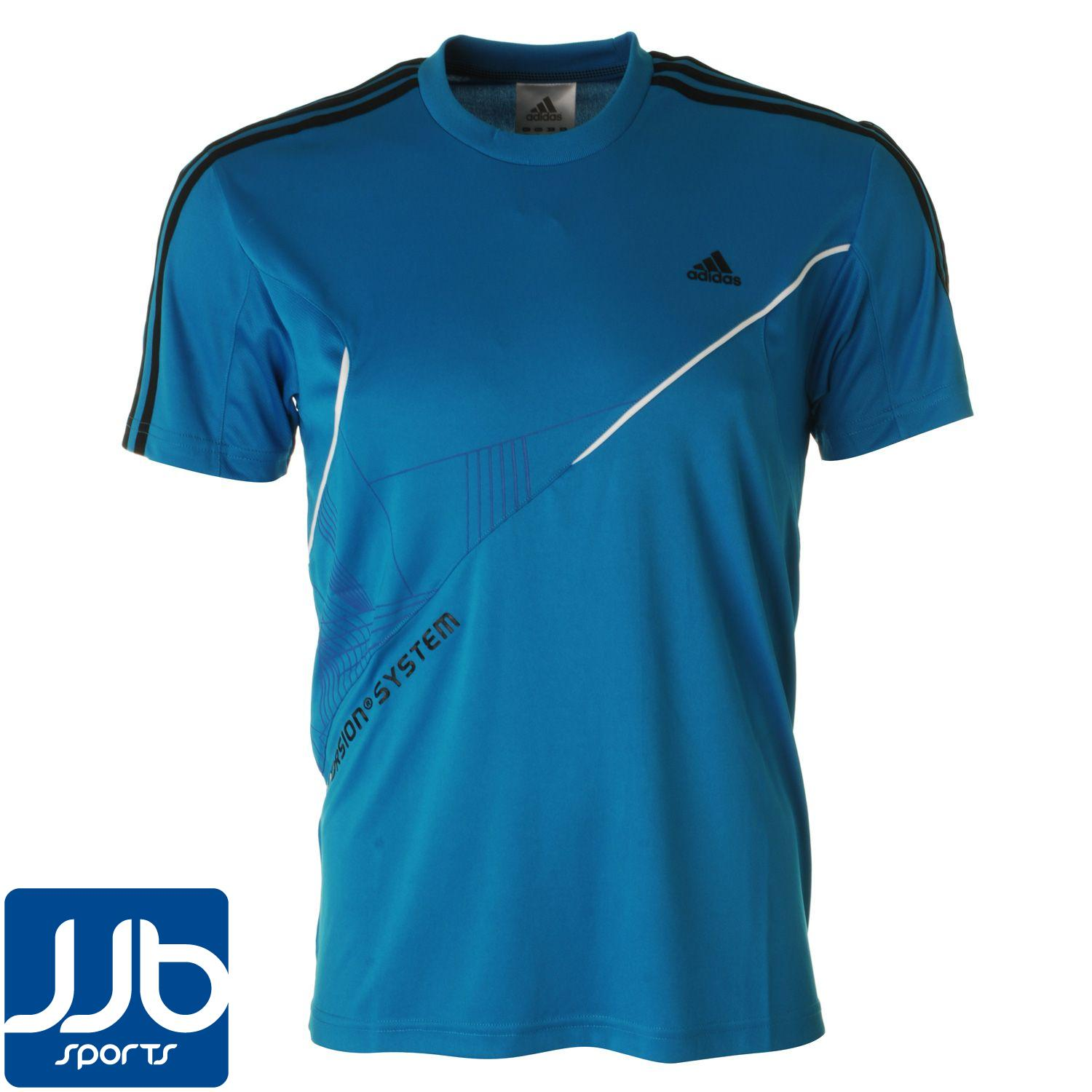 Adidas Torsion Mens 100 Polyester Breathable T Shirt