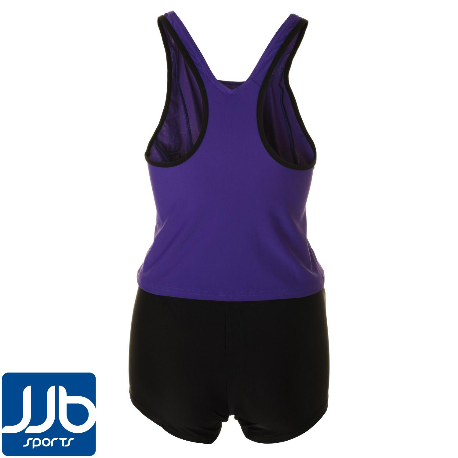 Speedo-Liquid-Win-Womens-Swimming-Tankini-Two-Piece-Vest-and-Shorts-Costume