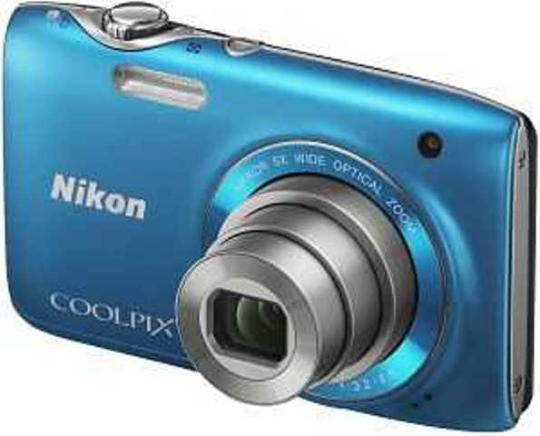 NIKON COOLPIX S3100 14 MP 5x OPTICAL ZOOM DIGITAL CAMERA BLUE GRADE A Enlarged Preview