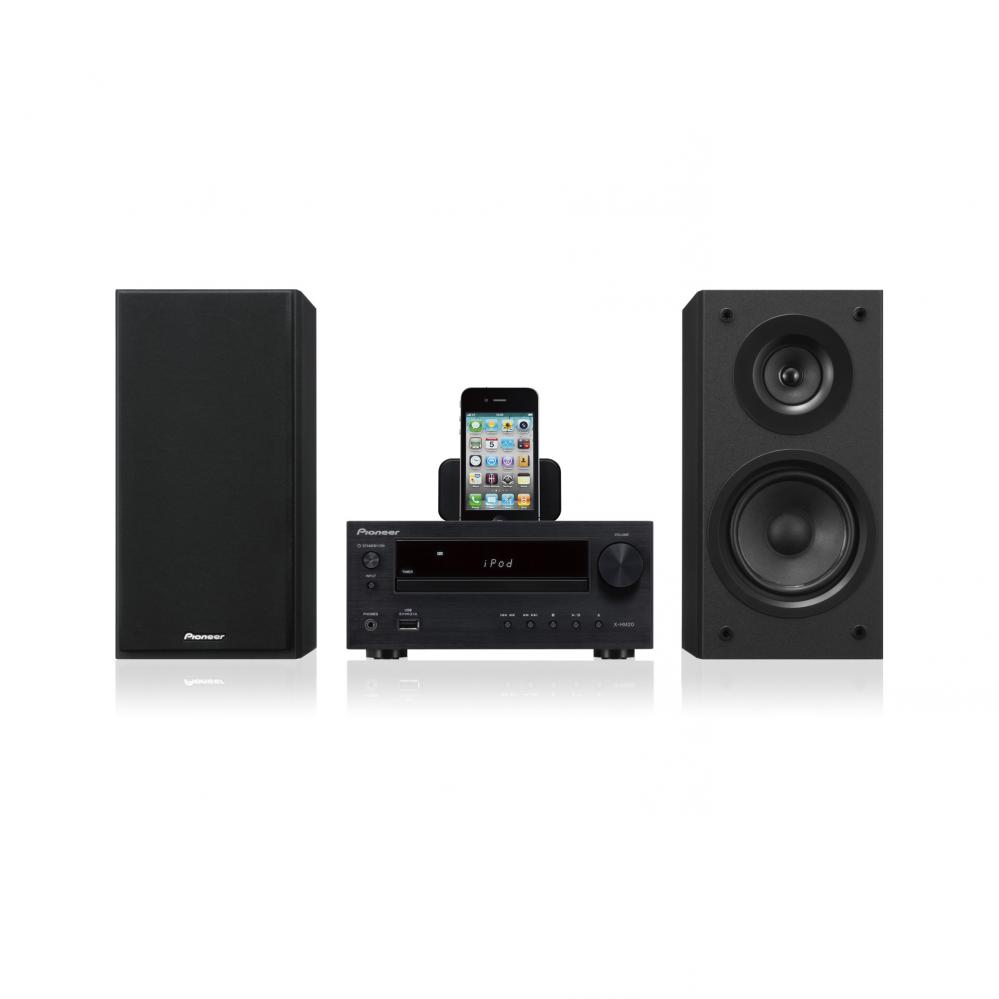 PIONEER XHM20DAB CD Micro HiFi 30Watts DAB-FM Tuner with iPod-Dock inc speakers  Enlarged Preview