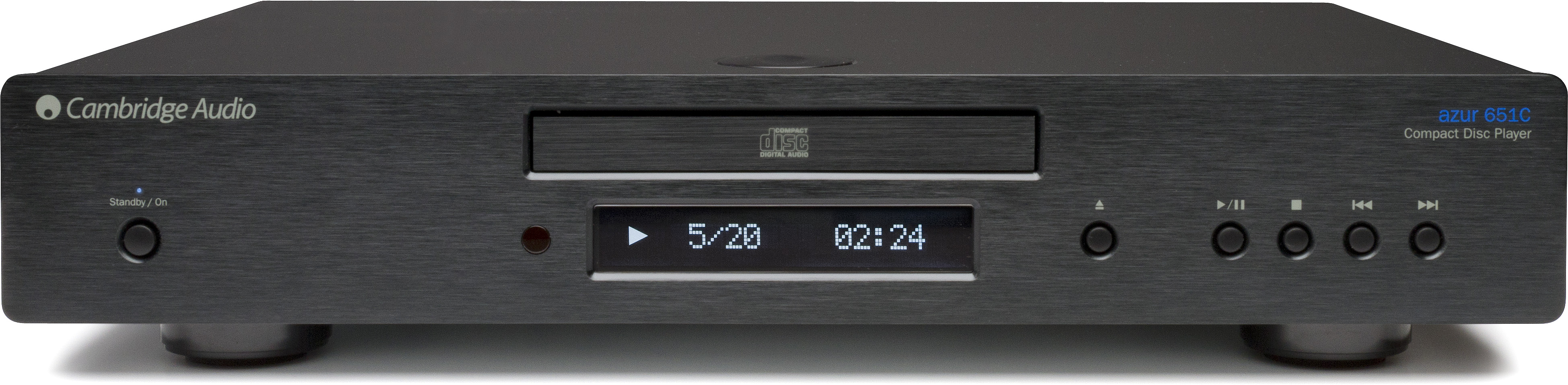 Cambridge Audio Azur 651C CD Player Black Enlarged Preview