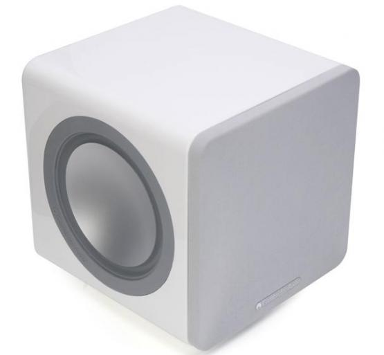 Richer Sounds. Cambridge Audio MINX X200 White Active Subwoofer. 200 Watts