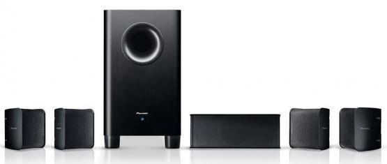 PIONEER S-HS100 Black 5.1 channel compact Speaker Package Enlarged Preview