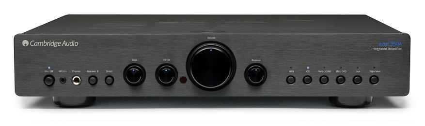 CAMBRIDGE AUDIO AZUR 350A Stereo Amplifier BLACK Enlarged Preview